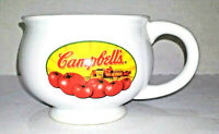 4 X Campbells Soup Decades Mugs  + 1 Tomatoes Bowl Houston Harvest Gift Products