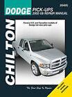 SHOP MANUAL SERVICE REPAIR DODGE RAM TRUCK CHILTON BOOK 20405 PICKUP DIESEL GAS