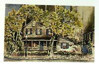 Savannah Georgia Pirates House Historic Restaurant & Tavern Postcard