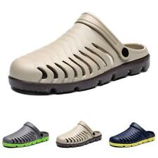 Men Summer Slippers Sandals Shoes Closed Toe Outdoor Beach Sports Non-slip New B