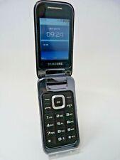 Samsung C3590 Flip Telefono Schermo a colori-nero-bloccato per O2