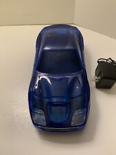 Radioshack Vcr Vhs rewinder Blue Sports Car 44-1225 Rare Awesome Free Shipping!