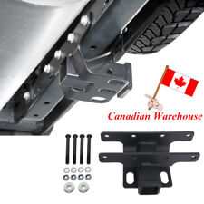 2'' Inch Black Iron Rear Receiver Hitch Pothook For Jeep Wrangler JK 2007-2018