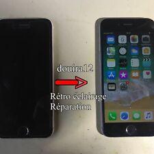 Réparation Rétroéclairage Backlight Luminosité Ecran iPhone 6s Micro Soudure.