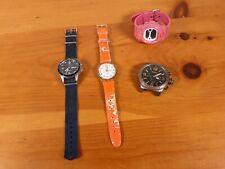 Broken Watches Job Lot x4 Spares Repair Casio Baby G Timex Fossil Swatch Bundle
