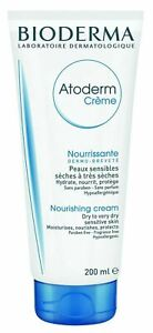 Bioderma Atoderm Cream 200ml - Nourishing Creme - Dry Sensitive Skin - Atopic