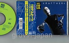 KRAFTWERK The Mix JAPAN CD 1991 1st issue TOCP-6804 w/OBI+P/S BOOKLET Free S&H