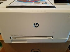 HP Wireless Color LaserJet Pro M252dw White 100% working condition