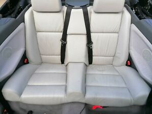 Bmw 3 Series E36 Convertible Rear leather Seats In Grey