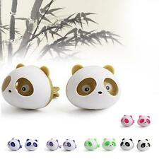 1 Paire Cute Panda Car Air Outlet Parfums Car Vent Désodorisant Climatisation EH