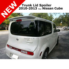 For Nissan Cube 10-13 Wagon ABS Top Trunk Rear Wing Spoiler Unpainted Primer
