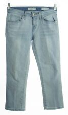 GUESS Medium Rise Skinny Sarah Fit Crop Denim Jeans In Light Wash Size 26