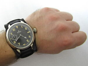 Rolex California Military Style WW II Vintage Swiss CAL.526 Men Watch EXCELLENT
