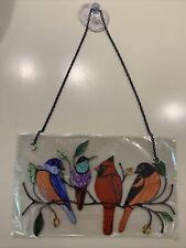 New listing Multi Bird Wall/Window Hanger With Chain and Suction Cup