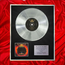 More details for aerosmith i don't want to miss a thing  cd platinum disc vinyl
