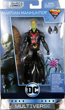 "DC Multiverse ~ 6"" MARTIAN MANHUNTER (SERIES 8) ACTION FIGURE ~ Mattel"