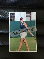"NICOLE VAIDISOVA EASTBOURNE WIMBLEDON TENNIS PHOTO 5.25"" X 3.75"""