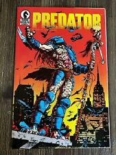 Predator #1 and #2 Dark Horse Comics 1st First Printing 1989