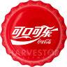 2020 COCA-COLA BOTTLE CAP COIN - CHINESE LANGUAGE - 6 GRAM SILVER - MINTAGE 1000