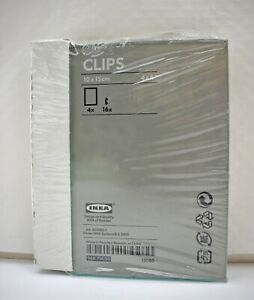 "Set of 4 Ikea Clips Borderless Glass Photo Frames 4"" x 6"" 10 x 15 cm AA-203583-1"