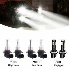90059006 Led Cree Combo Csp 6000k Headlight Kit Light Bulbs Hi Low Beam White