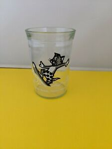 Vintage Welch's Jelly Jar Juice Glass Tom & Jerry Surfing the Waves 1990