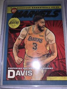 Anthony Davis Lakers 2020-21 Donruss NET MARVELS #20