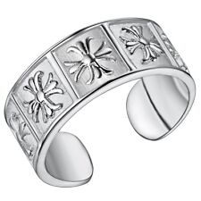 925 STERLING SILVER PLATED COCKTAIL RING THUMB FINGER RING