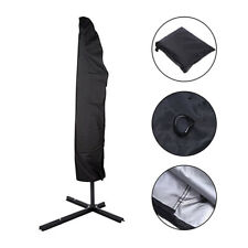 HENGMEI Copertura per Ombrellone Protettiva per Ombrelloni Impermeabile Anti-UV con Cerniera pour Ombrellone /Ø 300 cm Fino a 350 cm Marrone