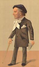 "VANITY FAIR SPY Cartoon. M Victorien Sardou ""Termidoro"". scrittori. da GUTH. 1891"