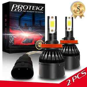 H7 LED Headlight Kit Plug&Play 60W 7200LM 6000K for 2004 - 2006 BMW X3 High Beam