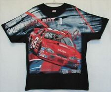 "Dale Earnhardt Jr ""Put On Your Game Face"" Screen Print T-Shirt Size L"