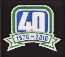 VANCOUVER CANUCKS 4OTH ANNIVERSARY PATCH