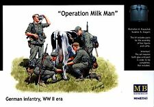 "Master Box MB 1/35 3565 ""Operation Milkman"" WWII German Infantry at Rest"