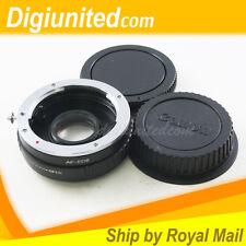 Sony Minolta Alpha AF lens to Canon EOS EF mount adapter 5D II III 6D 60D 650D