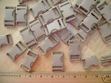 "25 New 3/4"" Duraflex Taupe Plastic Buckles/Stealth"