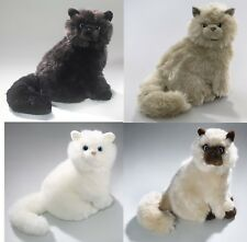 NEW PLUSH CUDDLY CRITTERS SITTING PERSIAN CAT SOFT TOY KITTEN TEDDY ASSORTED