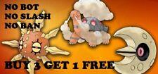 Pokemon Go Catching Regionals - BAN SLASH FREE - Torkoal Lunatone Solrock