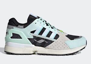 ADIDAS ORIGINALS ZX10,000 C Dash Green FV3324 Running Shoes Sneakers Mens Sz 7.5