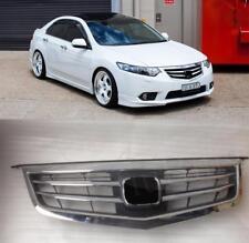 SPIRIOR FACEL Style Front Upper Bumper Grille For Honda Acura TSX 2012 2013 2014