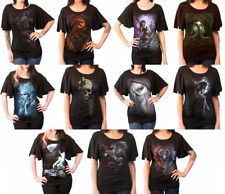 Graphic Tee Gothic T-Shirts for Women