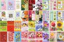 50 Geburtstagskarten Glückwunschkarten Geburtstag Grußkarten 10 Motive Mix
