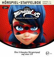 MIRACULOUS - MIRACULOUS-STAFFEL 1.1,FOLGE 1-13-HSP STAFFELBOX   MP3 CD NEU