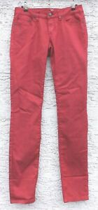 prAna Kara Jeans Pants Elastic Jeans Denim for Ladies Sunwashed Red