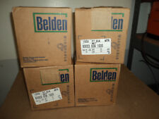 GENUINE BELDEN 83023 0091000 Hook up wire, 1C TFE, White, 24 AWG,1000 ft spool