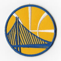 NBA Golden State Warriors Iron on Patches Embroidered Badge Patch Emblem Yellow