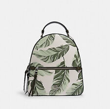COACH JORDYN BACKPACK BANANA LEAVES  laptop tote shoulder bag satchel handbag