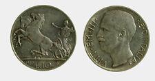 157) Vittorio Emanuele III (1900-1943) 10 lire 1927 Biga *