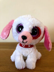 TY BEANIE BOO DARLIN THE DOG NEW WITH NO HANG TAG BOOS VALENTINE'S DAY
