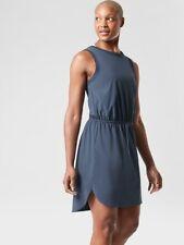 ATHLETA Rincon Dress  XS  X-Small | Iron Blue Quick Dry Travel New